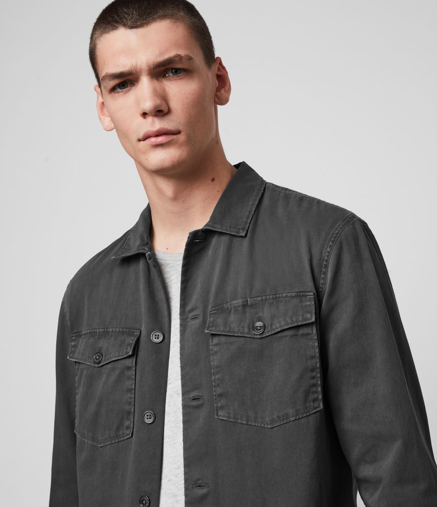 Mens Spotter Shirt (iron_grey) - Image 2