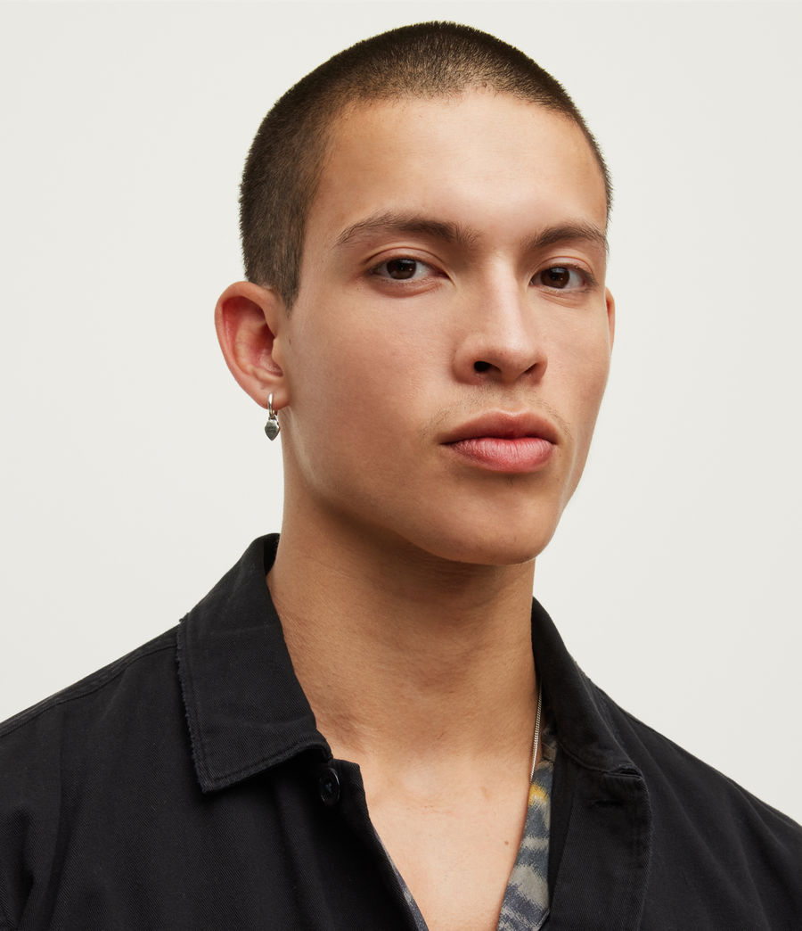 Mens Spotter Shirt (black) - Image 2