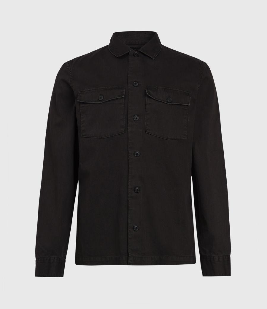 Mens Spotter Shirt (dark_garnet_red) - Image 2