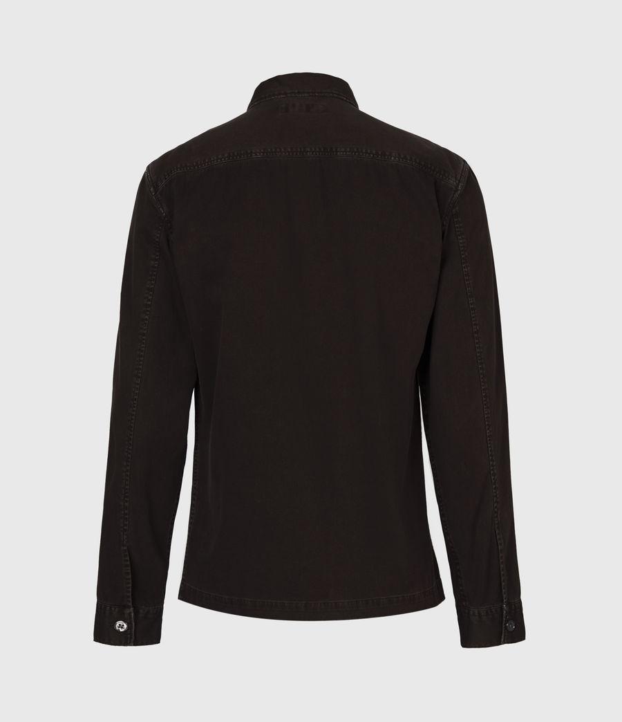Mens Spotter Shirt (dark_garnet_red) - Image 3