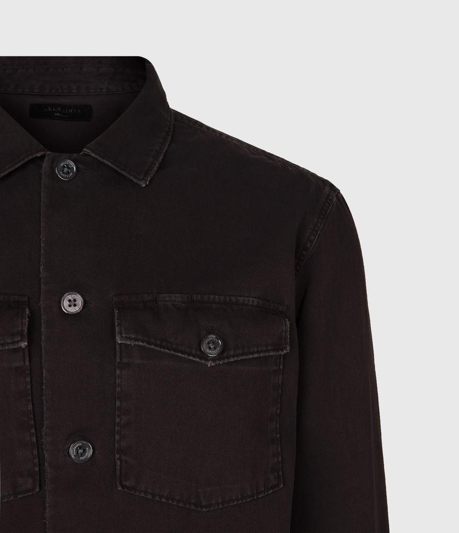 Mens Spotter Shirt (dark_garnet_red) - Image 5