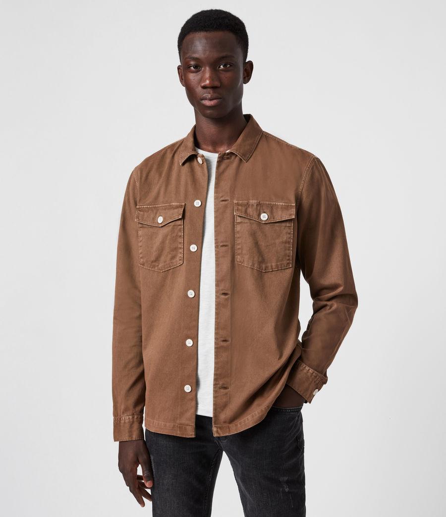 Herren Spotter Hemd (clove_brown) - Image 1