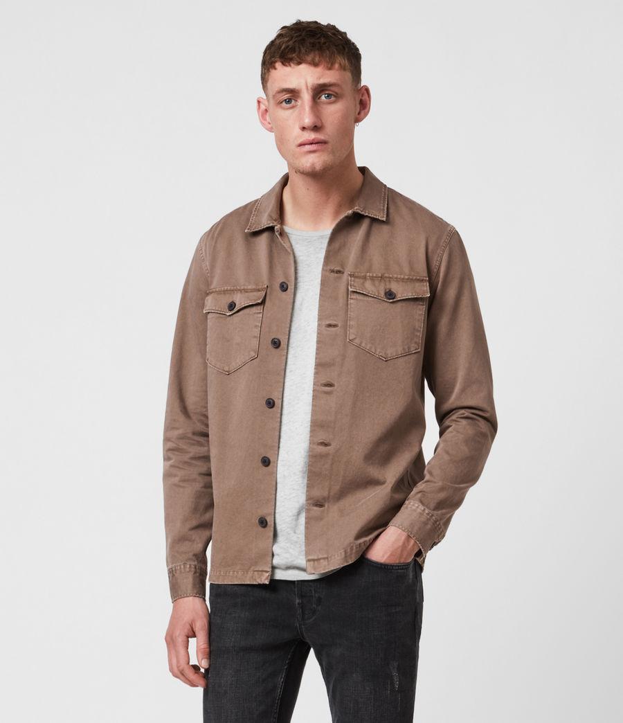 Men's Firebase Shirt (mushroom_brown) - Image 1