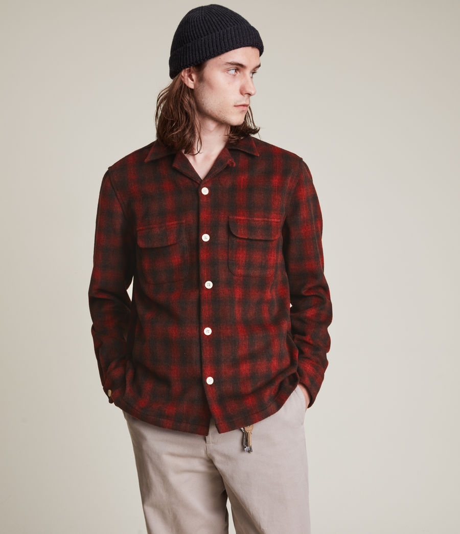 Men's Bernstadt Shirt (sienna_red) - Image 3