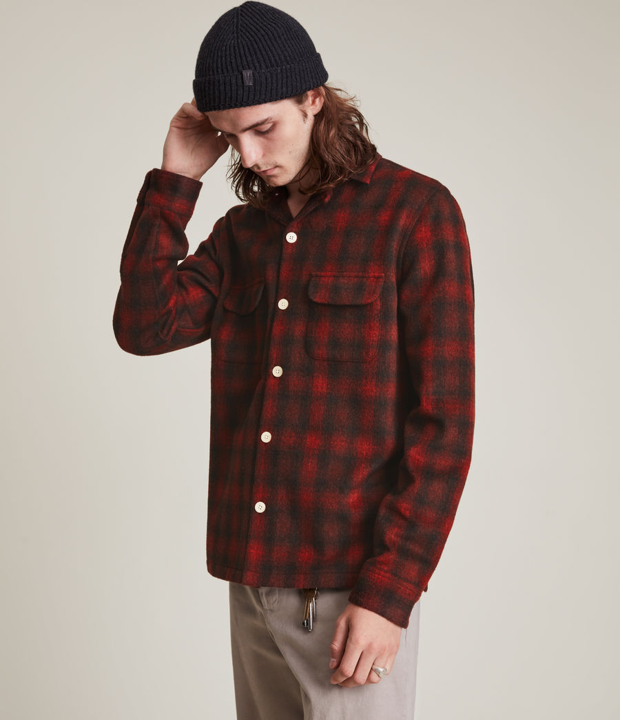 Men's Bernstadt Shirt (sienna_red) - Image 5