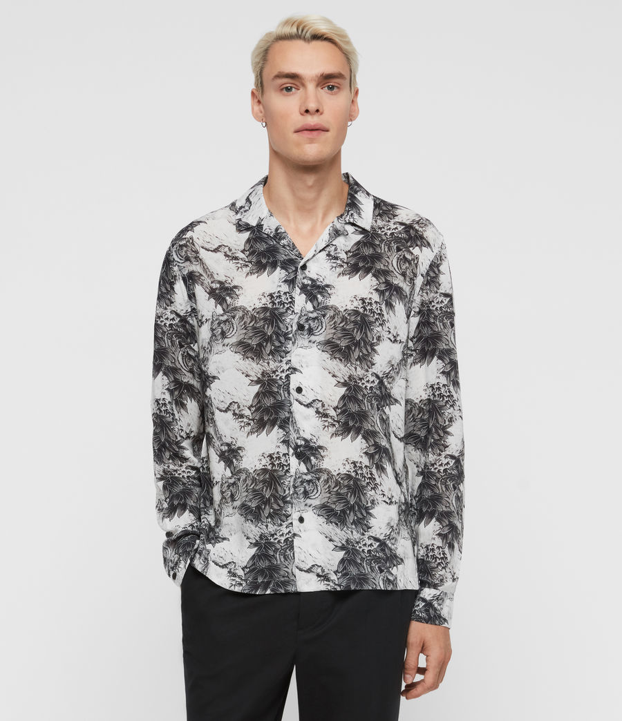 Men's Amagi Shirt (light_grey) - Image 1