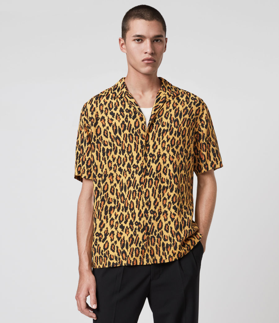 Mens Catamere Shirt (yellow) - Image 1