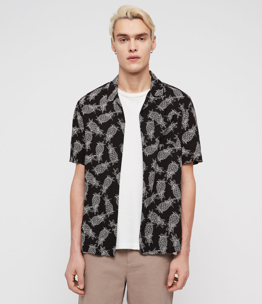 Men's Pina Shirt (jet_black) - Image 1