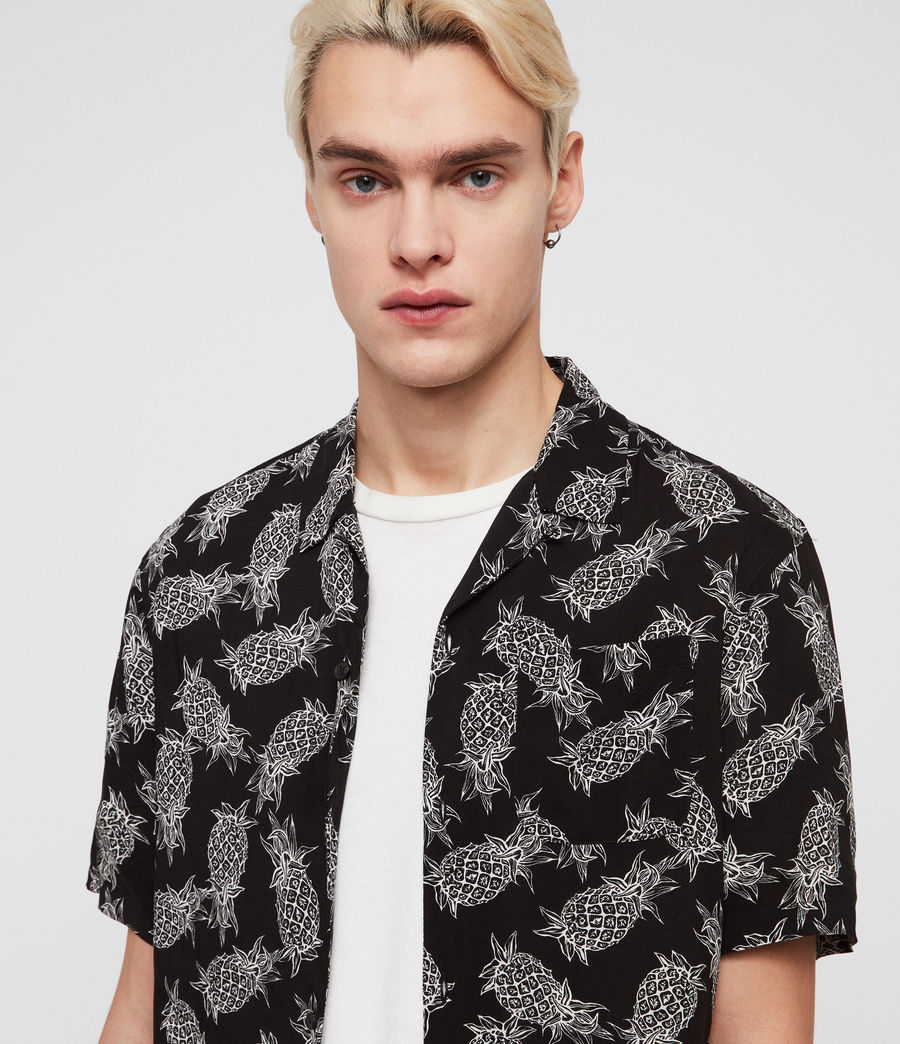 Men's Pina Shirt (jet_black) - Image 2