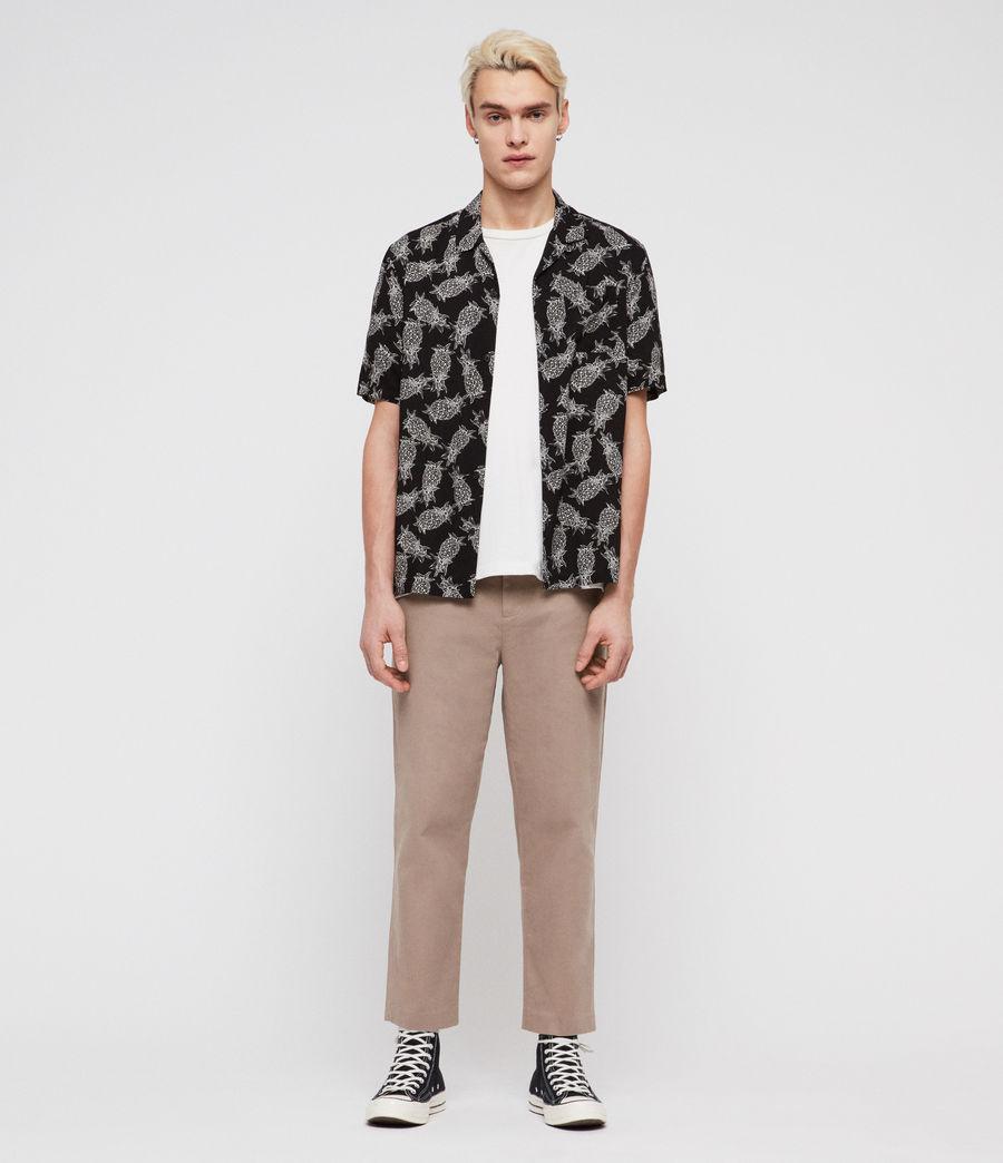 Mens Pina Shirt (jet_black) - Image 3