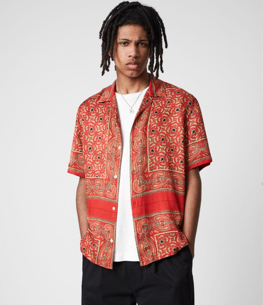 Mens Sinaloa Shirt (infernal_red) - Image 1
