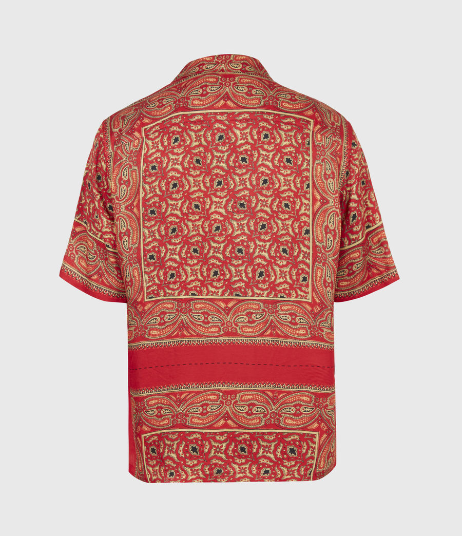 Mens Sinaloa Shirt (infernal_red) - Image 3