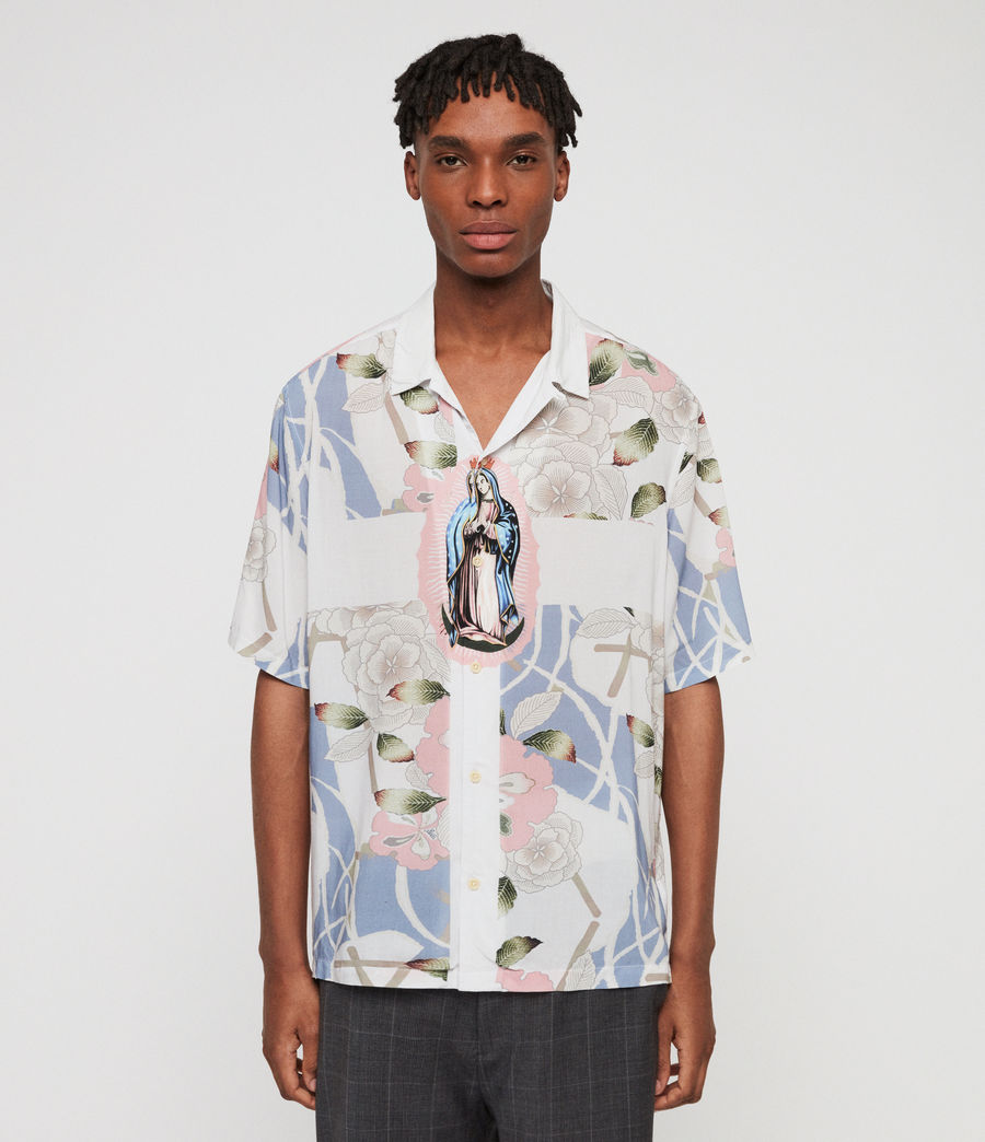 Mens Puerto Shirt (off_white) - Image 1