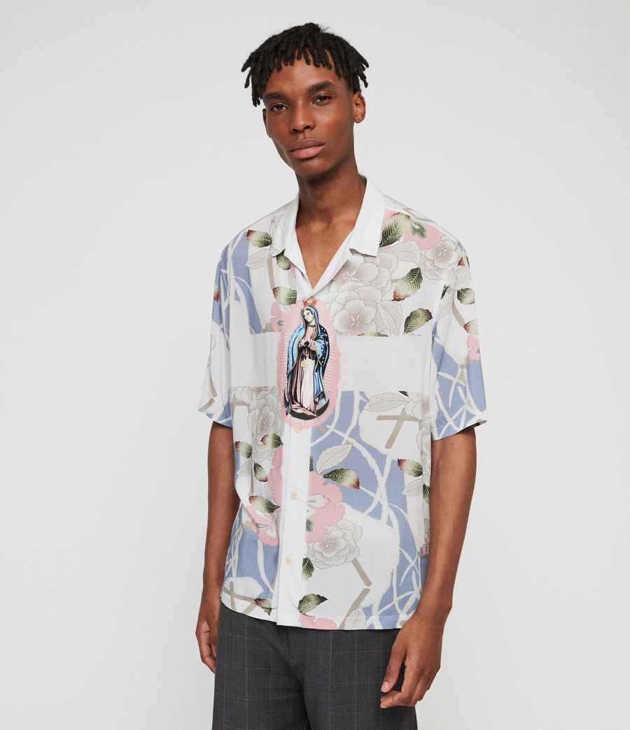 Mens Puerto Shirt (off_white) - Image 4