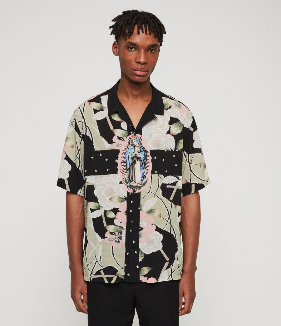 Men's Puerto Shirt (jet_black) - Image 1