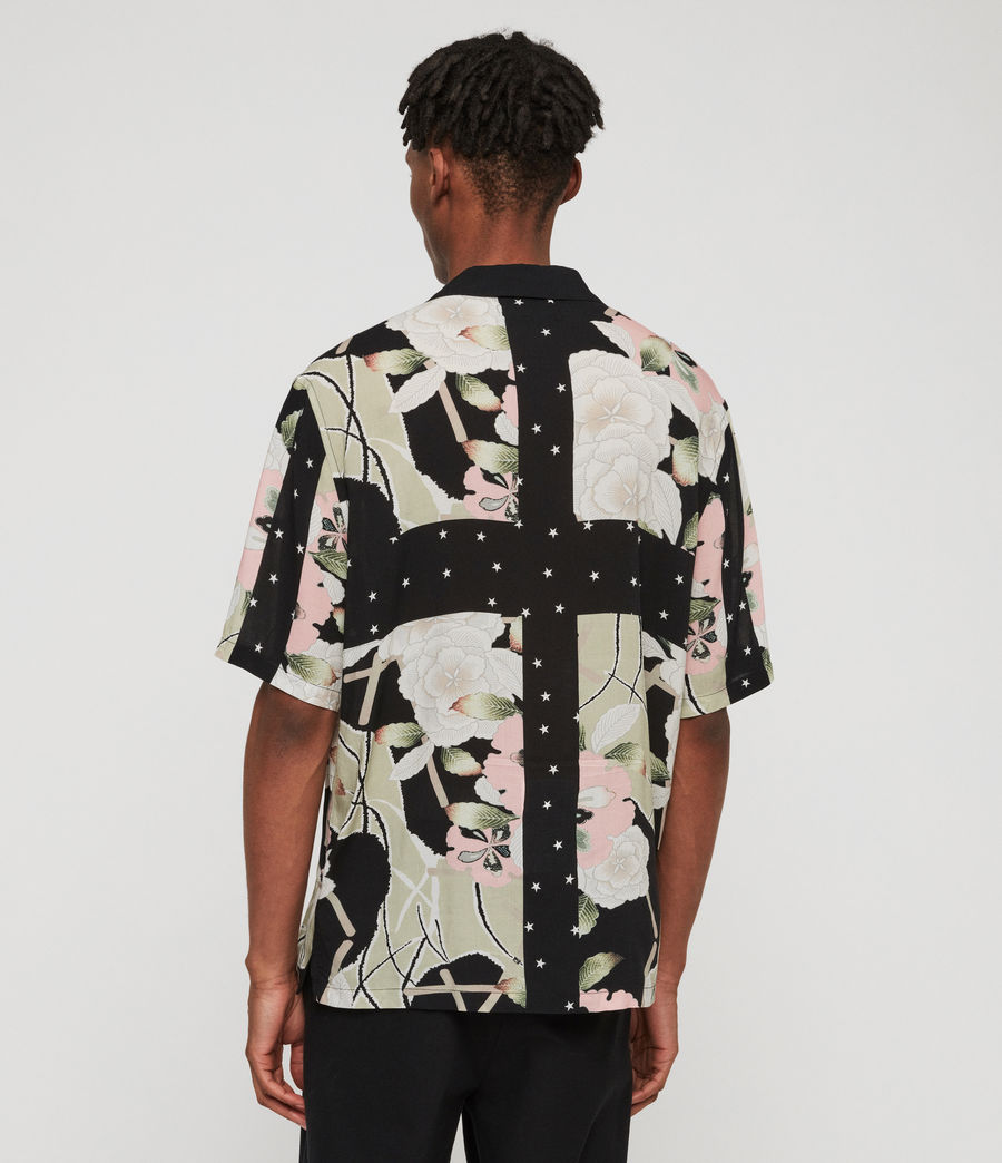 Men's Puerto Shirt (jet_black) - Image 4