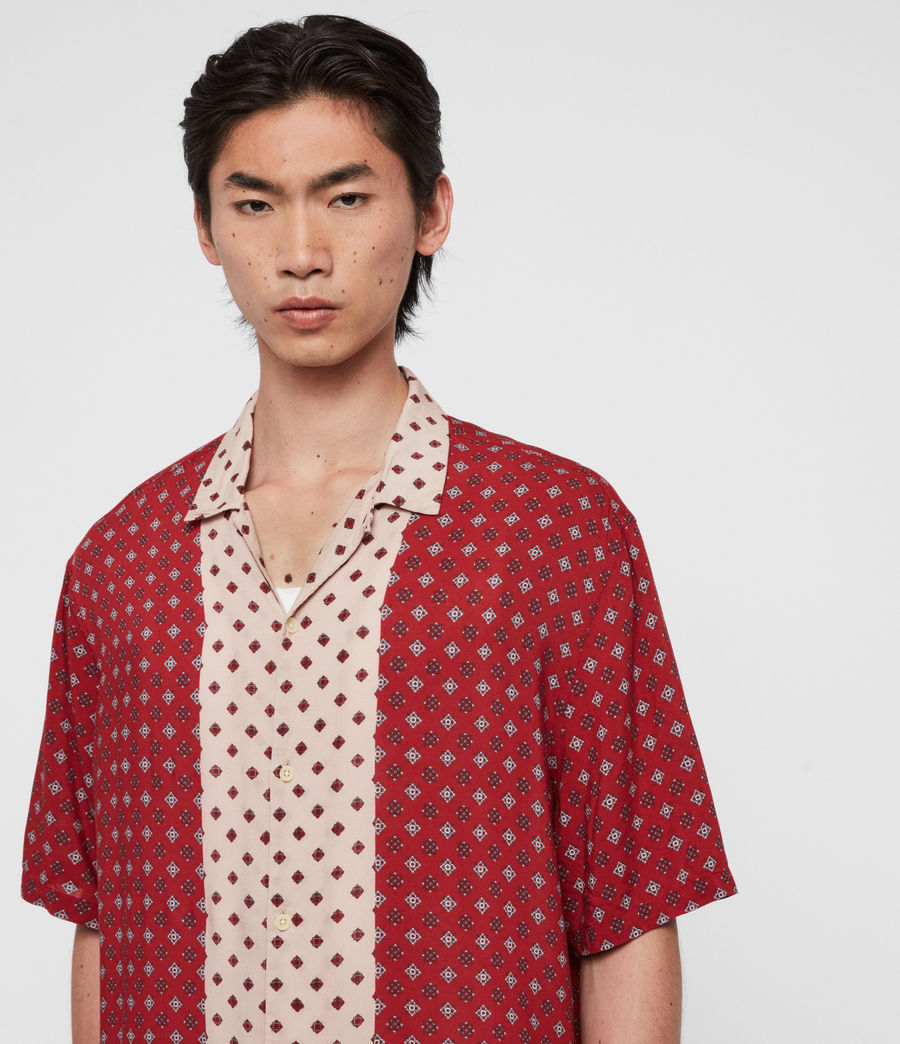 Men's Maltese Shirt (red) - Image 2