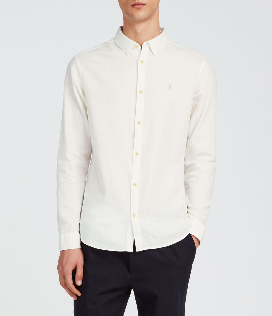 Men's Sanborn Shirt (white) - Image 1