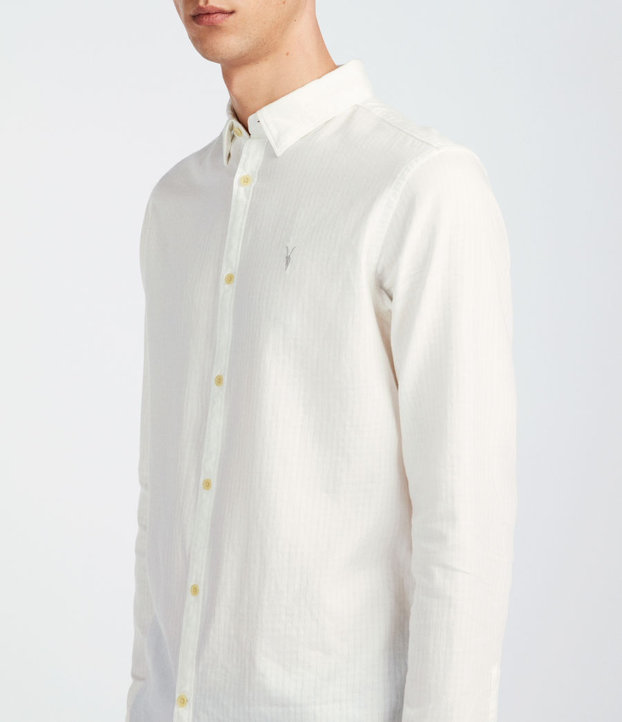 Men's Sanborn Shirt (white) - Image 2