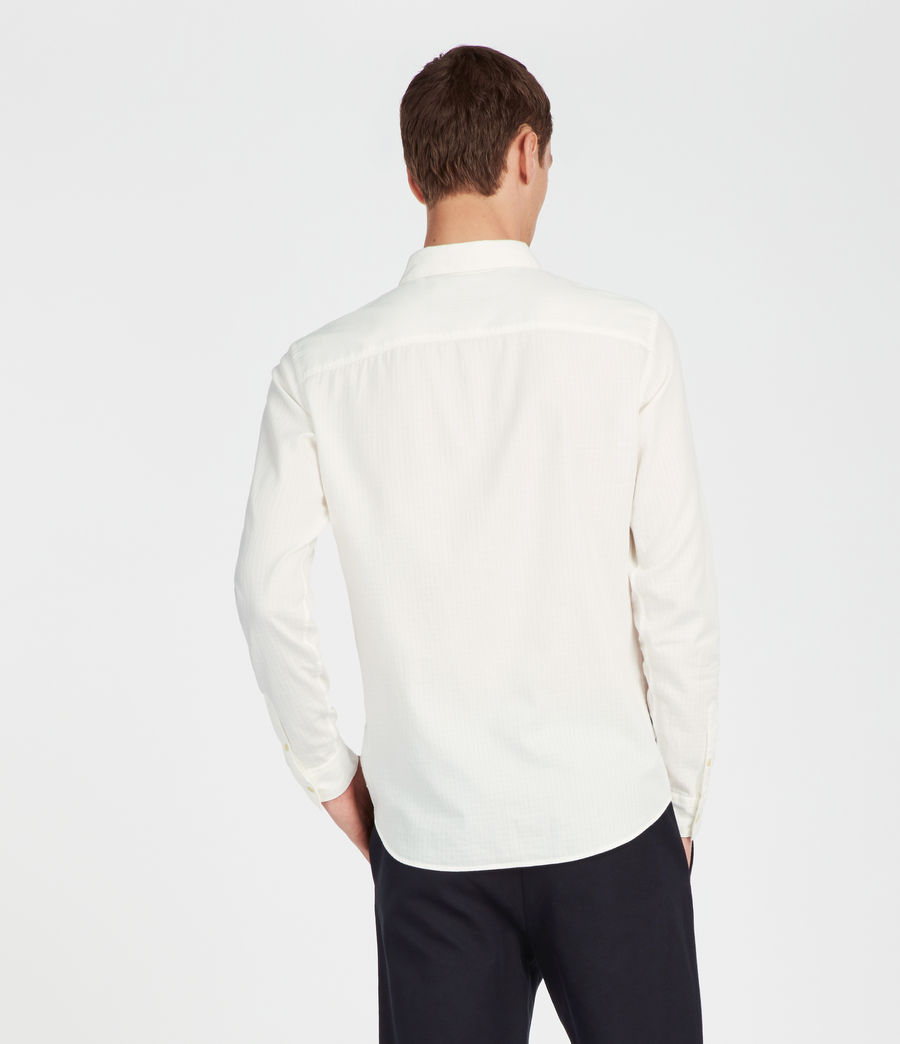 Men's Sanborn Shirt (white) - Image 4