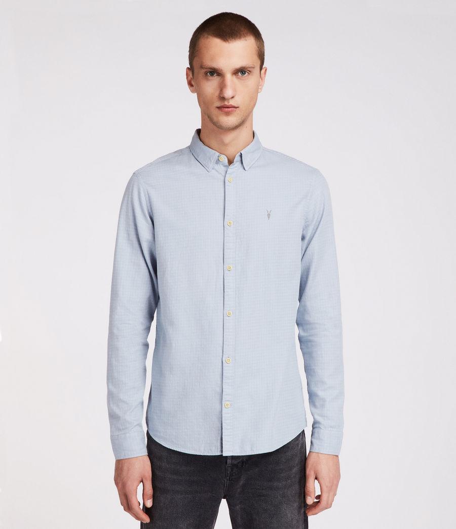 Uomo Camicia Sanborn maniche lunghe (blue) - Image 1