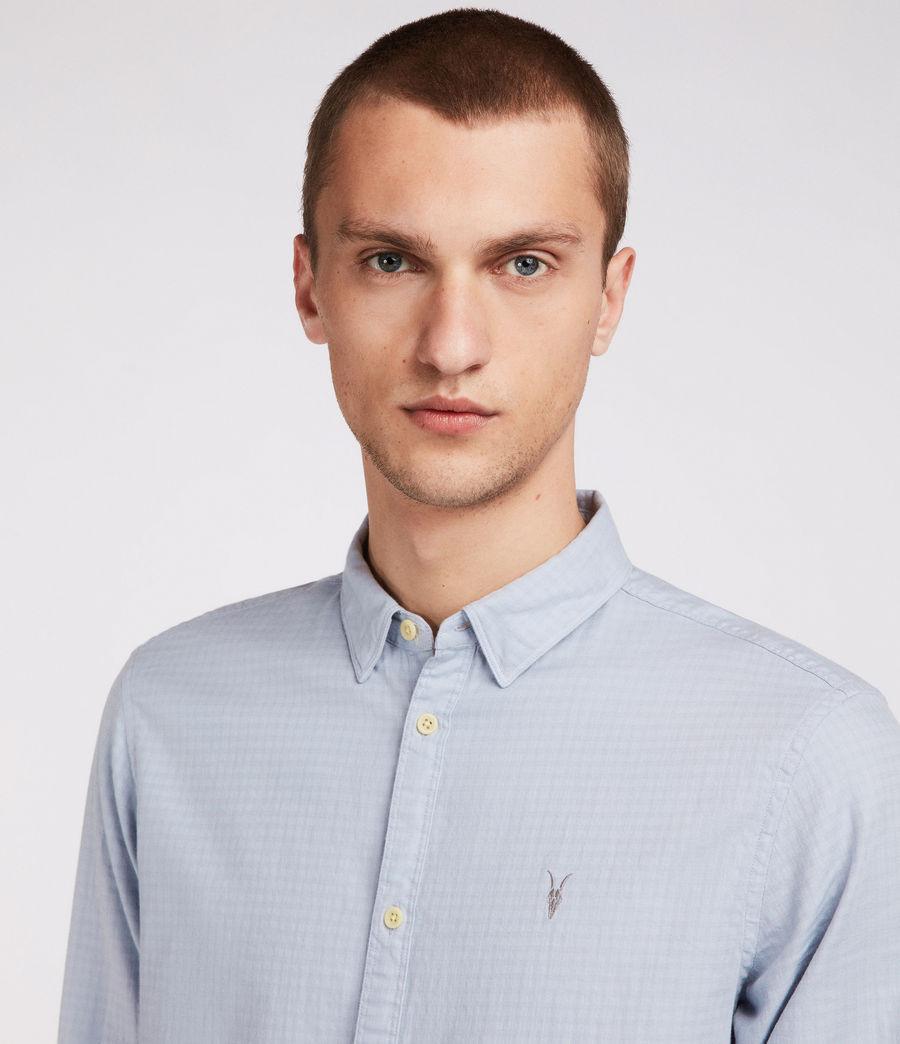 Hombres Camisa Sanborn (blue) - Image 2