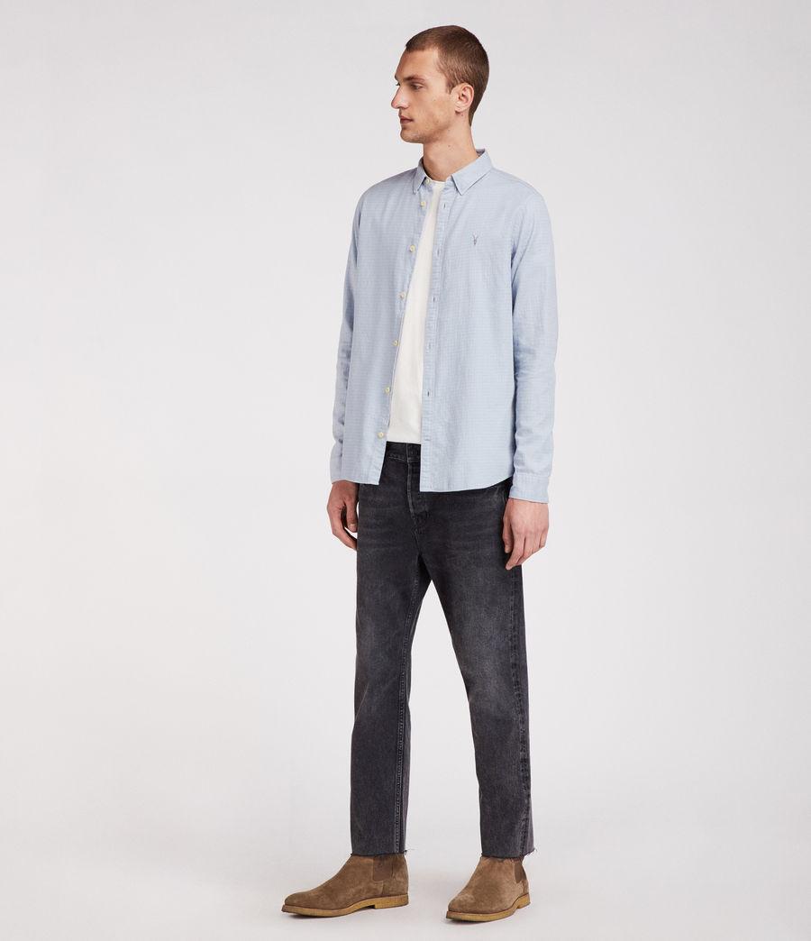 Hombres Camisa Sanborn (blue) - Image 3