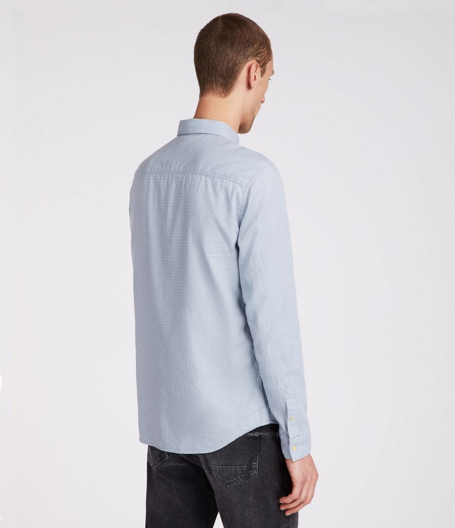 Uomo Camicia Sanborn maniche lunghe (blue) - Image 4