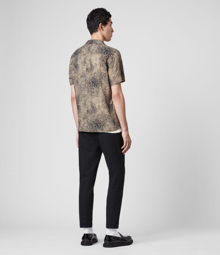 Herren Diffusion Kurzarm Hemd (brown_black) - Image 5