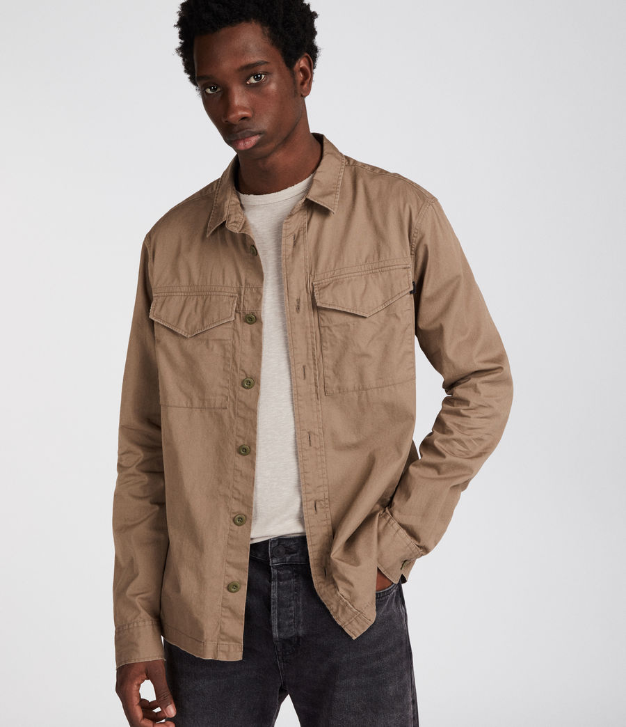Mens Incline Shirt (canvas_brown) - Image 3