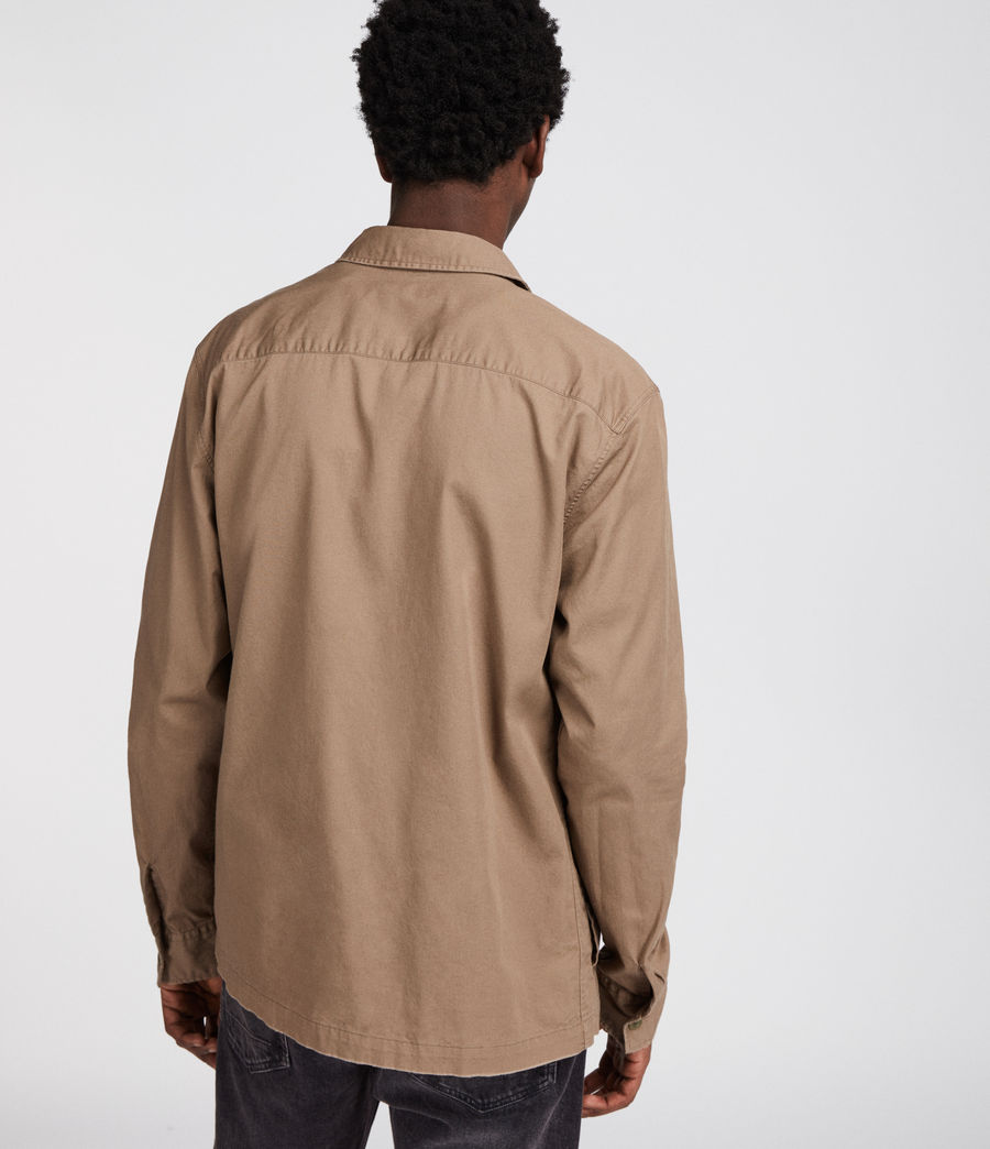 Mens Incline Shirt (canvas_brown) - Image 4