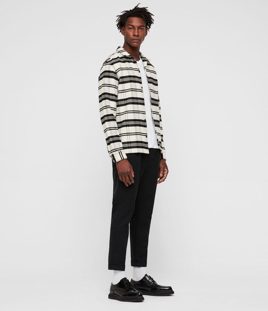 Hombres Camisa Cervino (white_black) - Image 3
