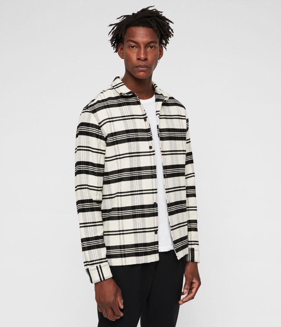 Hombres Camisa Cervino (white_black) - Image 4