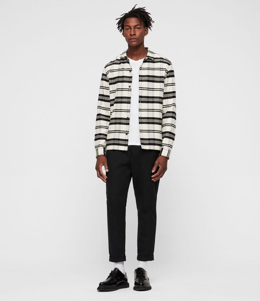 Hombres Camisa Cervino (white_black) - Image 5