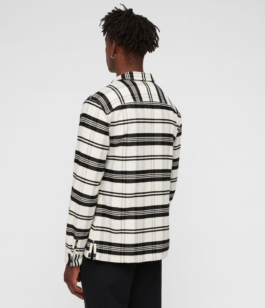 Hombres Camisa Cervino (white_black) - Image 6