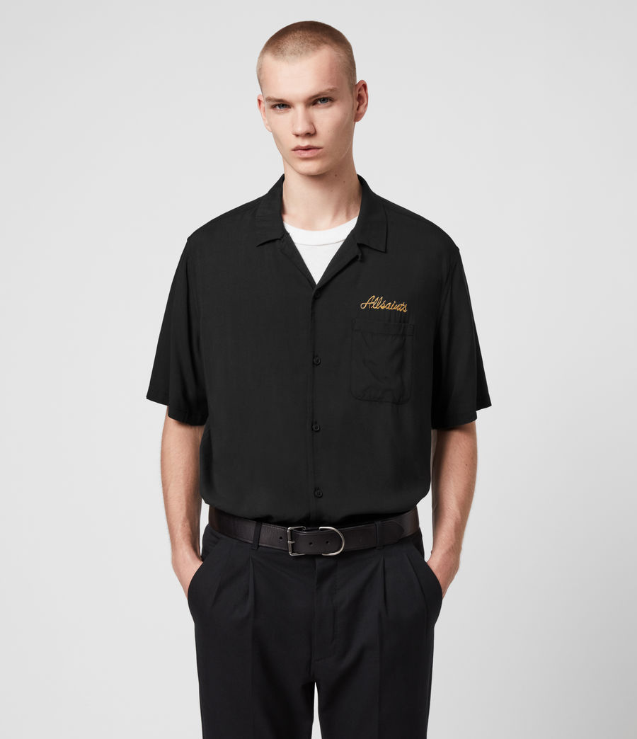 Men's Sibu Shirt (jet_black) - Image 3