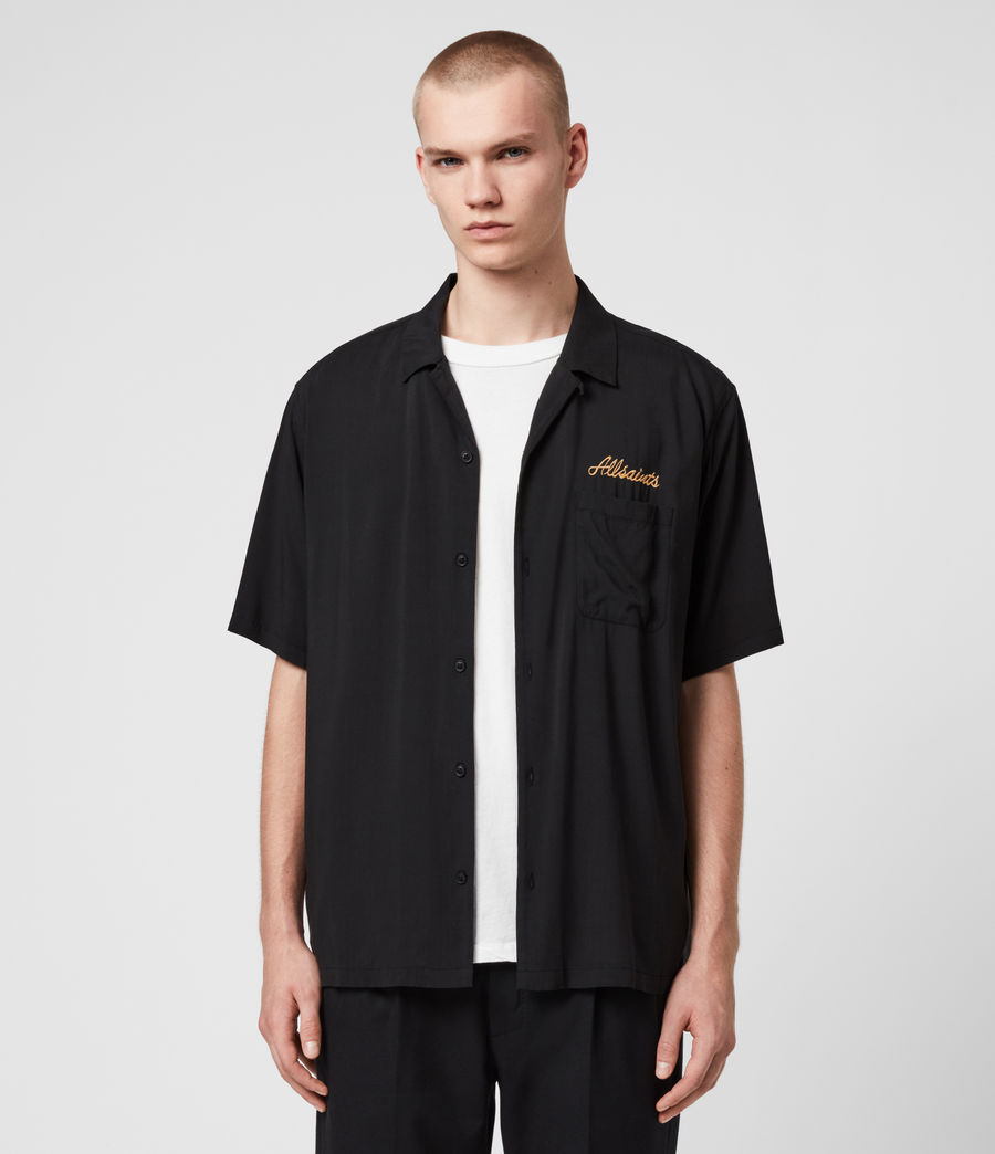 Men's Sibu Shirt (jet_black) - Image 5