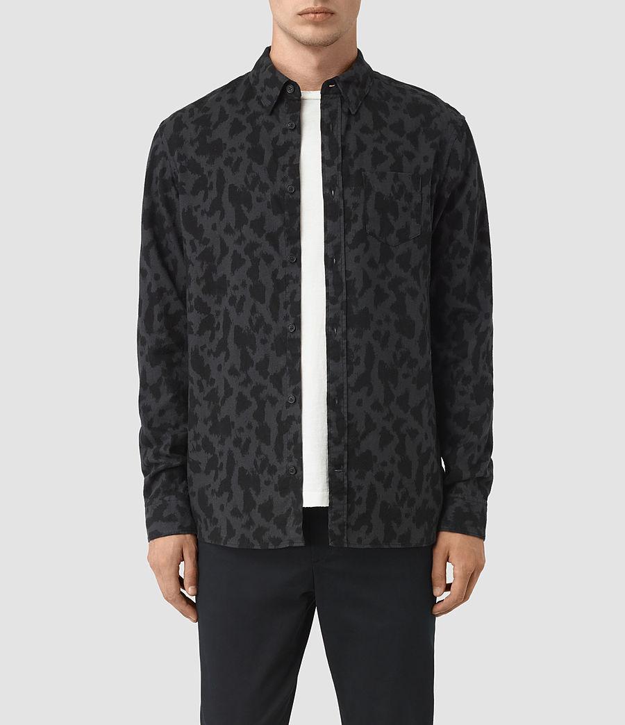 Hombre Montaud Shirt (charcoal_black) - Image 1