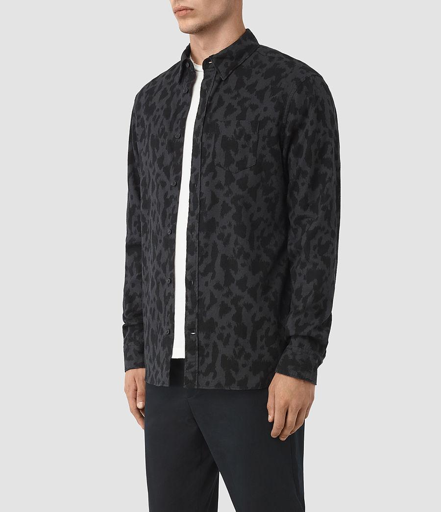 Hombre Montaud Shirt (charcoal_black) - Image 2