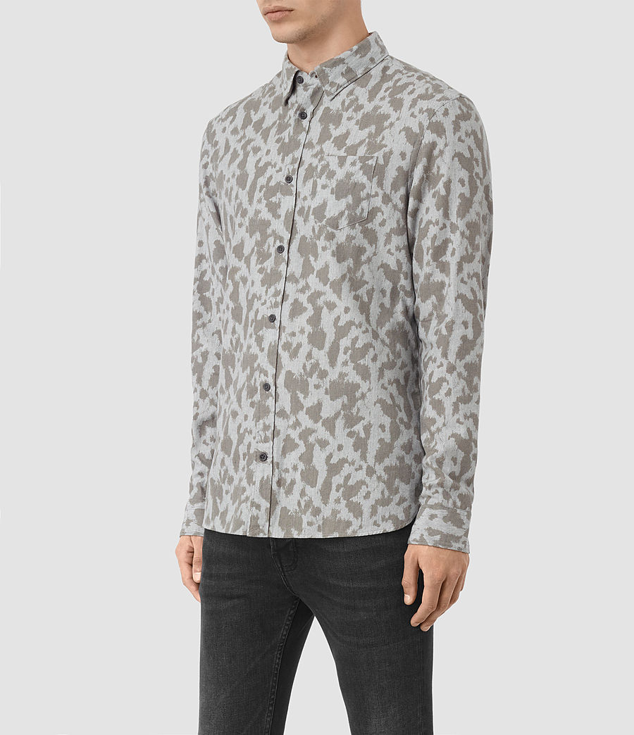 Hombre Montaud Shirt (light_grey_marl) - Image 2