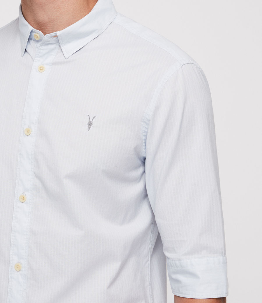 Mens Fuller Half-Sleeve Shirt (cloud_blue) - Image 2