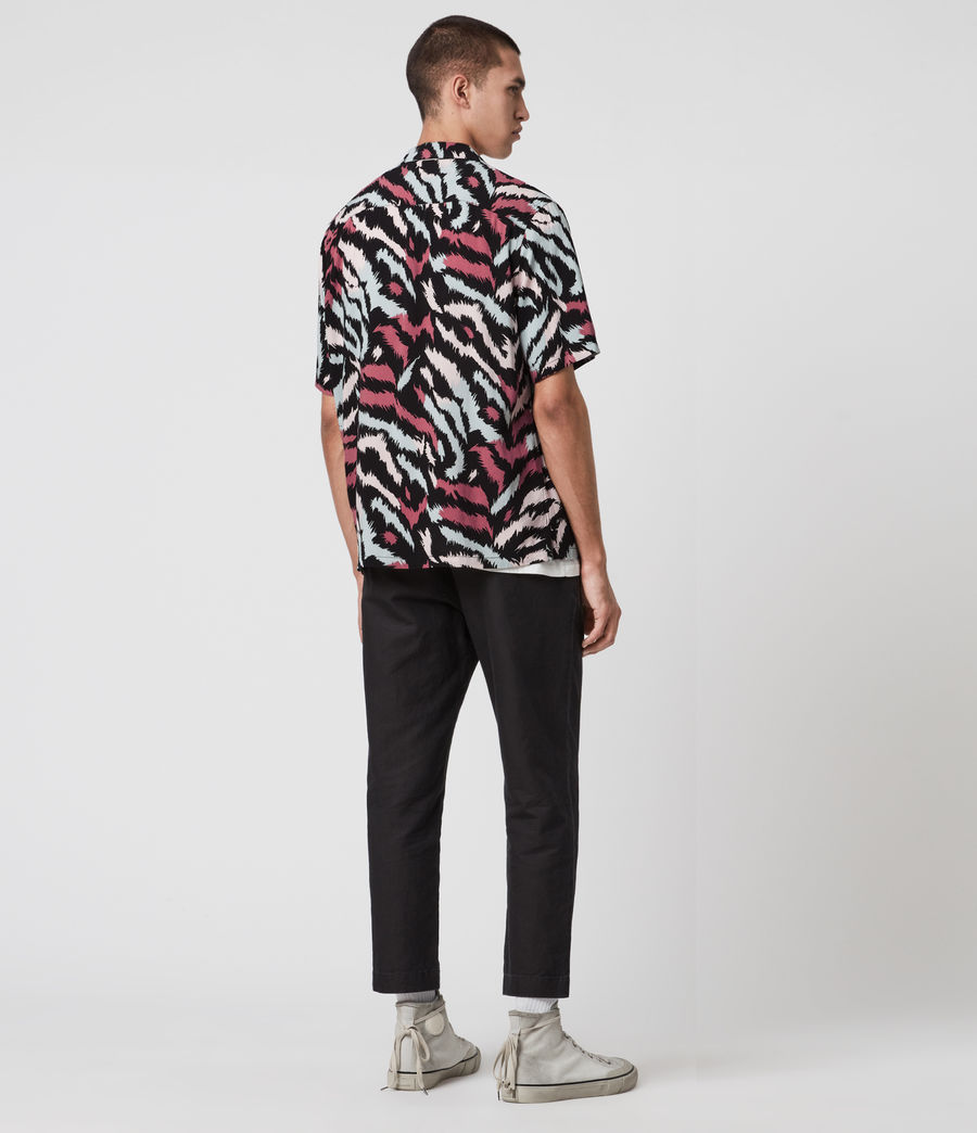 Hombres Synth Shirt (jet_black) - Image 5