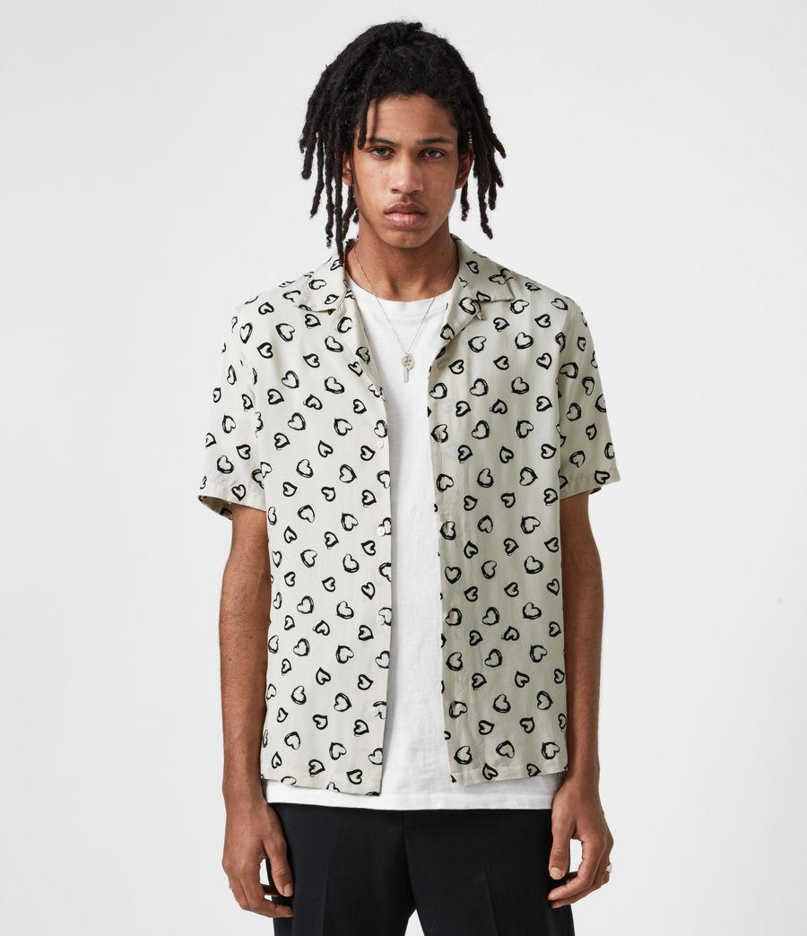 Herren Romanza Shirt (ecru) - Image 1