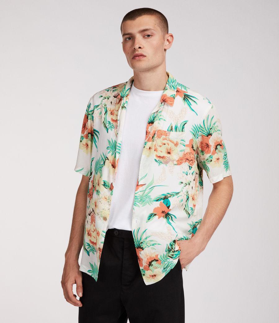 Hombre Camisa Calypso (ecru) - Image 3