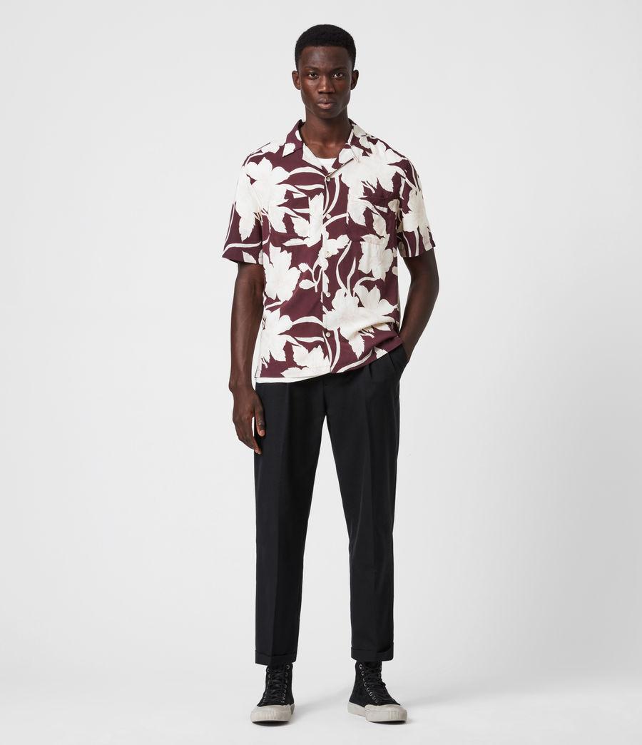 Men's Jardin Shirt (oxblood_red) - Image 4