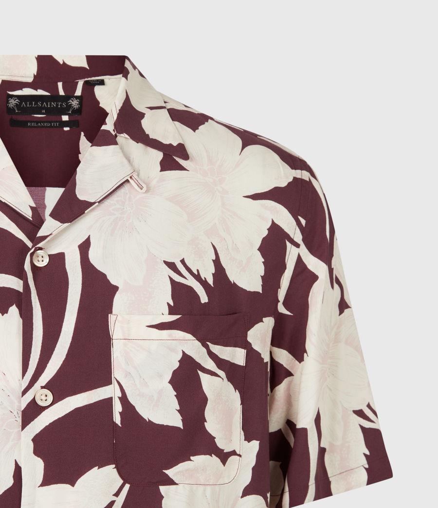 Mens Jardin Shirt (oxblood) - Image 5