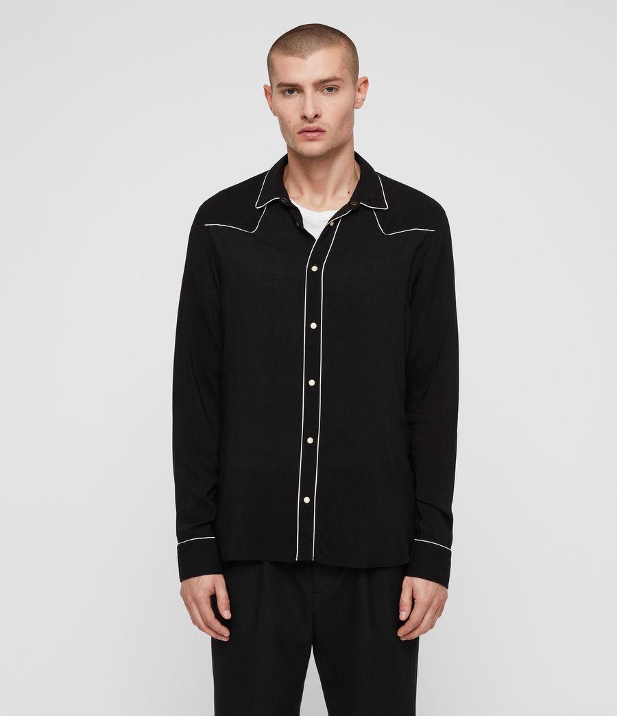 Hombre Camisa Nero (black) - Image 1