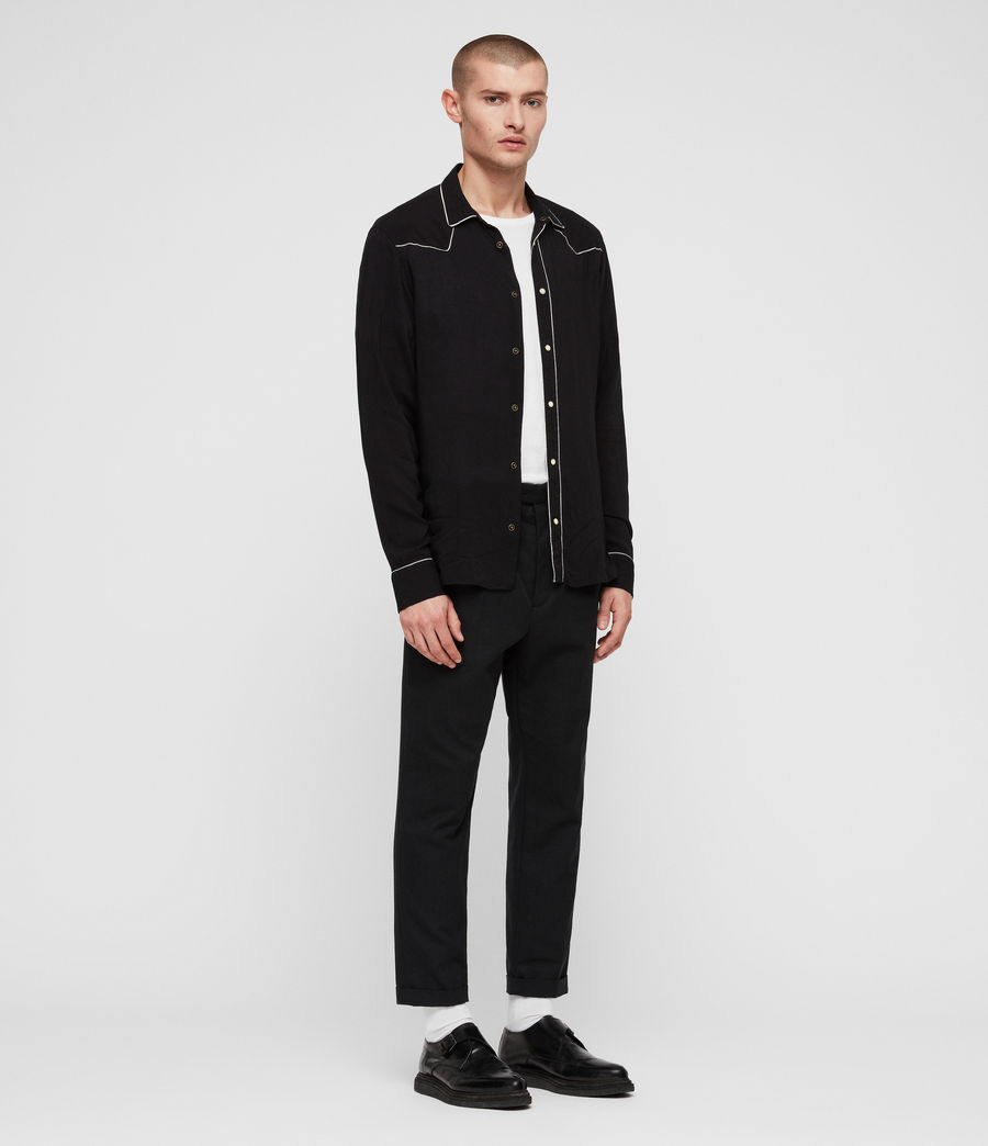 Hombre Camisa Nero (black) - Image 3