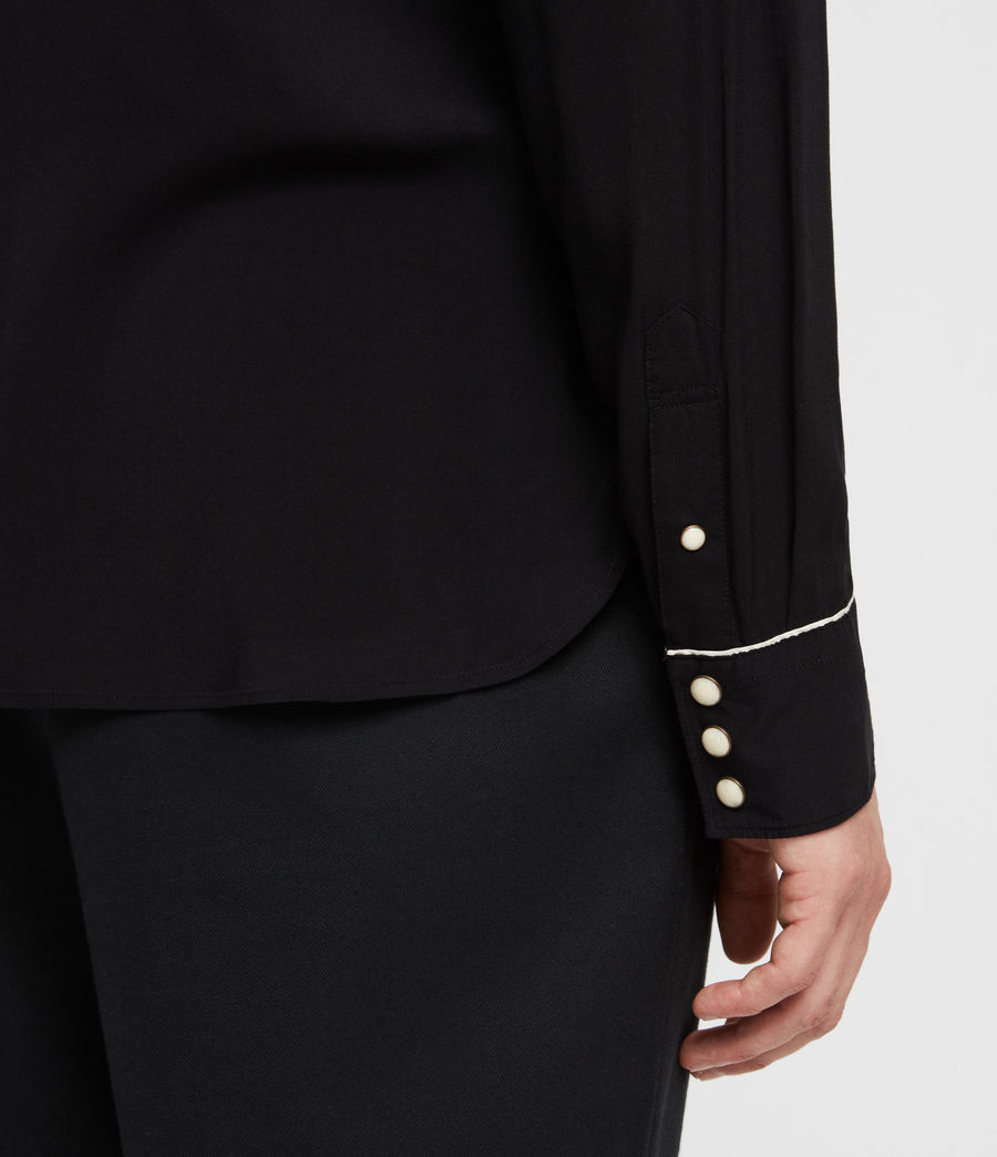 Hombre Camisa Nero (black) - Image 4