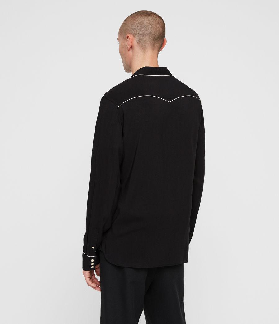 Hombre Camisa Nero (black) - Image 5